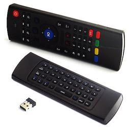 2.4GHz Wireless Qwerty Keyboard Air Remote Fly Mouse for And