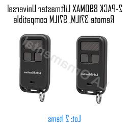 2-PACK 890MAX Liftmaster Universal Remote 371LM, 971LM compa
