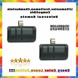 2 Pack 893MAX 3 Button Visor Universal Remote Control Garage
