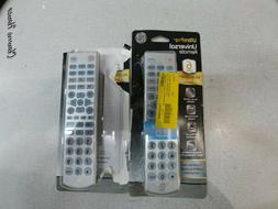 2 GE Ultra Pro UNIVERSAL REMOTE CONTROL 6-DEVICE BACKLIT BIG
