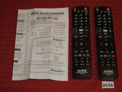 2 - Universal Remote Controls LG-23+AL