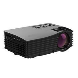 2017 Projector , ERISAN LCD LED Mini Multi-media Portable Vi
