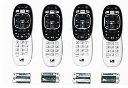 Lot of 4 DirecTV RC73 remote controls for Genie HR34 HR44 al