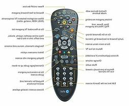 U-VERSE 4-DEVICE SUPPORT CINGULAR UVERSE AT&T REMOTE CONTROL