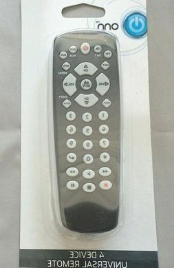 Onn 4 Device Universal Remote