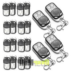 433mhz Universal Cloning Remote Control Key Fob Electric Gat