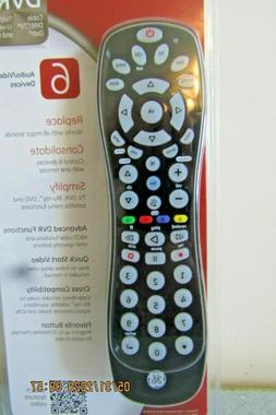 GE 6 Device Universal Remote, Compact Design, Works with Sma