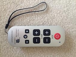 Gmatrix Large Button Universal Waterproof Remote Control  -