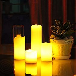 Kubert® Flickering Flameless Candles, Battery Operated LED
