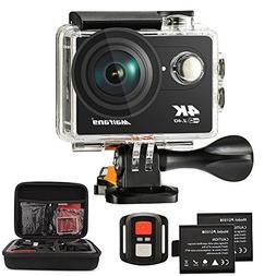 Maifang Sports Camera, Waterproof 4K WIFI Action Camera With
