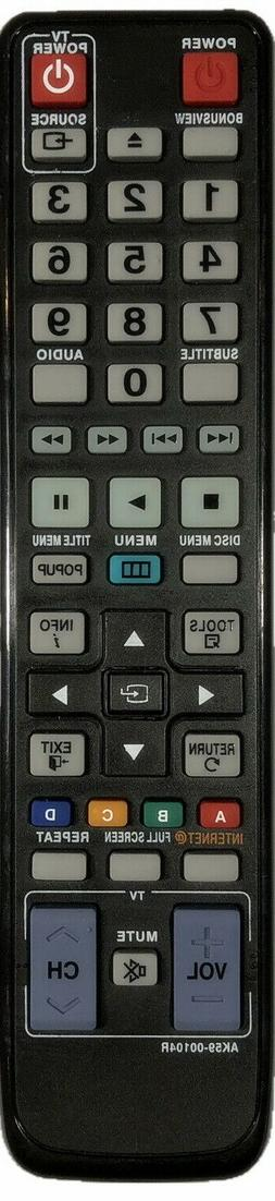 New Samsung Replacement Remote 2 in 1 For Samsung TV & Blu-R