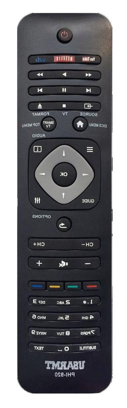 New USBRMT Remote Control PHI-920 For Philips Smart TV DVD B