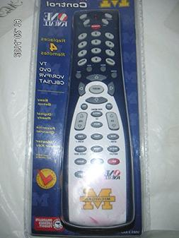 One For All 4 Device Universal Remote Control - University o