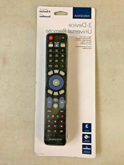 Open-Box Excellent: Insignia- Universal 3-Device Remote
