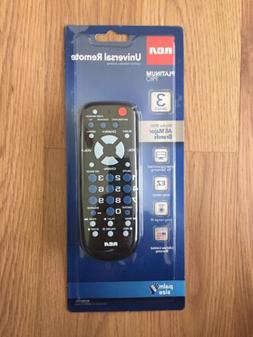 RCA RCR503BZ 3-Device Palm-Sized Universal Remote