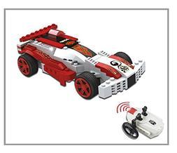 Unitech Toys UniBlock Red & White Racecar R/C Construction T
