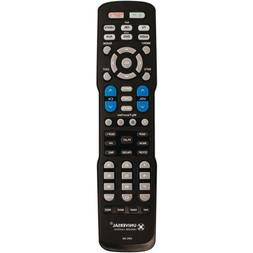 URC A6 Pre-Programmed and Learning Universal Remote Control