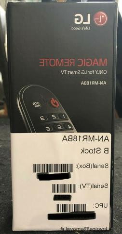 LG AN-MR18BA Magic Remote Control for 2018 LG Smart TV's ONL