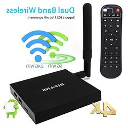Android 6.0 Pro Smart TV Box, BIFANS Stream Media Player, Am