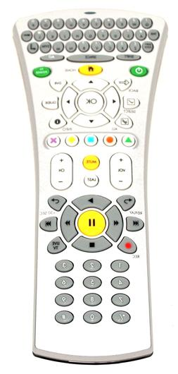 AT&T U-VERSE SBC HOME ZONE 2 UNIVERSAL REMOTE CONTROL WITH B