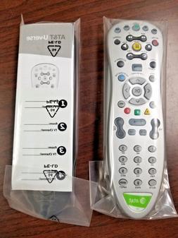 AT&T U-verse Standard RF Remote Control SILVER RCSBC15348  B