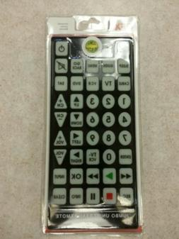 BIG Giant Jumbo Huge 8-1 Universal TV Remote/Clicker - QFX R