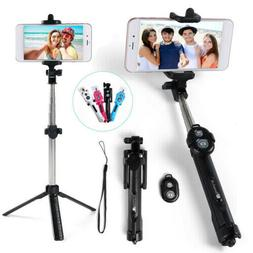 Bluetooth Selfie Stick Tripod Remote Extendable Monopod for