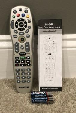 Optimum Cablevision Universal Cable Remote Control URC-2464B