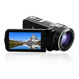 camcorder recorder 30fps zoom touch