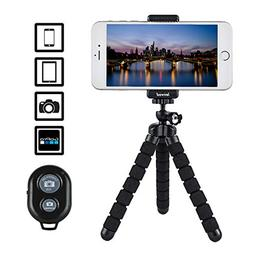 LENVOD – Cell Phone Tripod – Flexible iPhone Tripod for