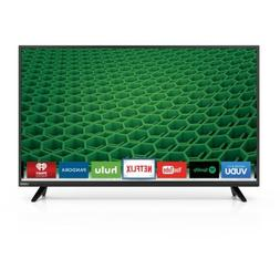 "VIZIO D48-D0 48"" 1080p 120Hz Full Array LED Smart HDTV, Buil"