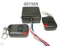 MSD 12V 15A on - off 2 remote control wireless 12V output re