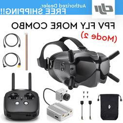 DJI Digital FPV Goggles, Air unit and Remote Controller- Fly