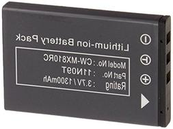 DEEJ DJ-110 Replacement 3.7V Li-ion Rechargeable Battery for
