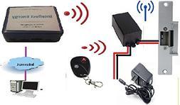 Door lock Remote Control Wi-Fi and remote control.Temperatur