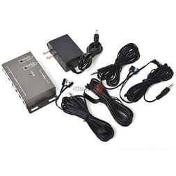 DVD TV IR Infrared Remote Extender Hidden Repeater System 6