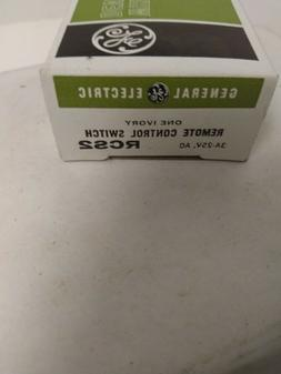 GENERAL ELECTRIC RCS2 REMOTE CONTROL SWITCH