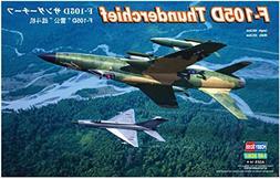 Hobby Boss F-105D Thunderchief Airplane Model Building Kit