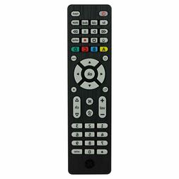 GE 4 Device Universal Remote Smart TVs LG Vizio Sony Blu Ray