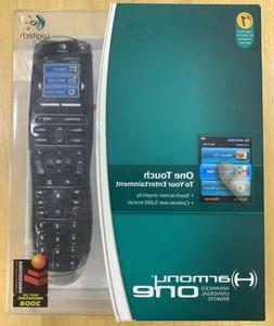 Logitech Harmony One Universal Remote with Color Touch Scree