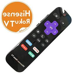 Original Hisense Roku TV Remote w/Volume Control & TV Power