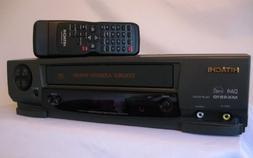 HITACHI 4-Head VCR Mono VT-MX4510A