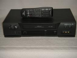 MITSUBISHI HS-U430 VCR, 4 H ead, Hi-Fi Stereo, Remote Contro