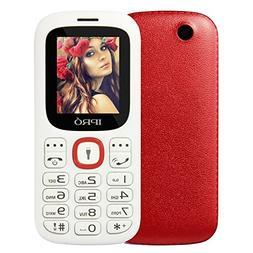 """IPRO i3185 Mini 1.8"""" Unlocked GSM Dual SIM Cell Phone with Q"""