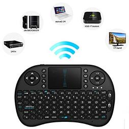 I8 Mini 2.4Ghz Wireless Touchpad Keyboard With Mouse Combo M