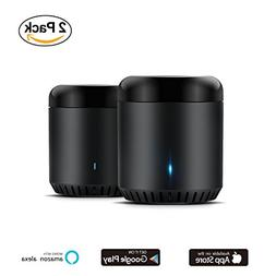 IR Home Hub 2 Packs, BroadLink RM Mini3 Smart WiFi IR Univer