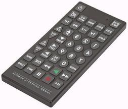 PrimeTrendz TM Jumbo Large Universal Remote Control