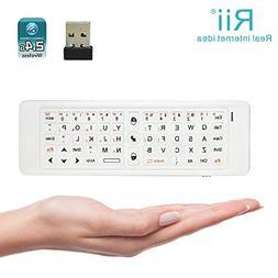 Rii K13 5 in 1 Multifunction Mini Wireless Keyboard With Fly