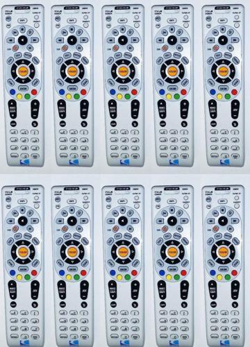 10 Pack - DIRECTV IR / RF Universal Remote Control RC66RX