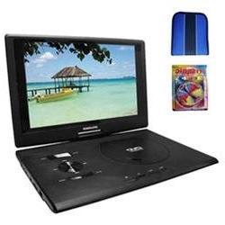 Sylvania 13.3 DVD Player  w/ USB/SD Card Reader - Essentials